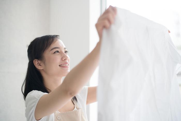 衣類の黄ばみで来シーズンのしまった!を防ぐための「しまい洗い」の方法