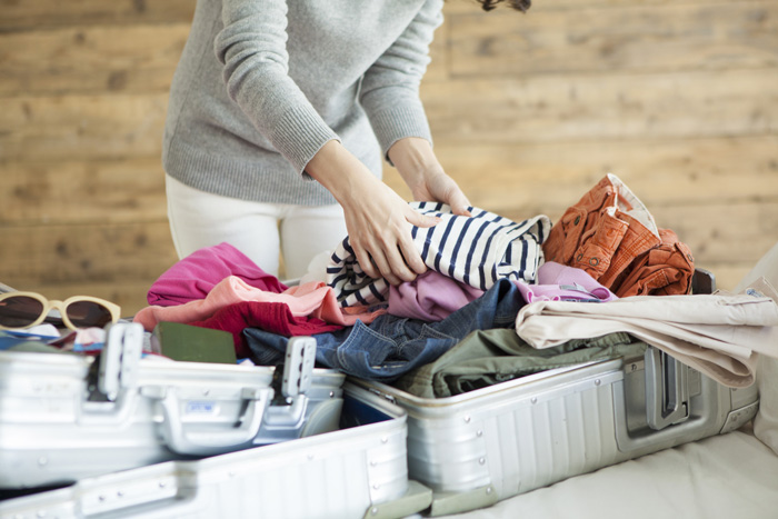 旅行の荷物を大きく減らせるホテルの部屋でのお洗濯!