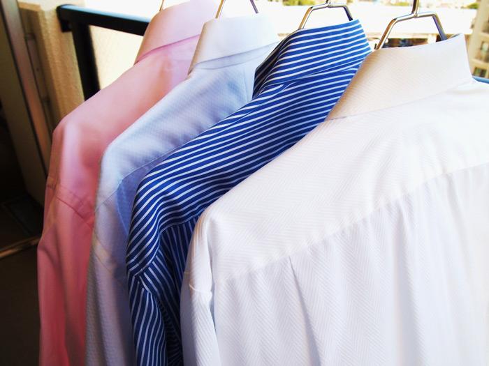 シャツのエリはお湯で一揉み!冬の上手な「クレンジングお洗濯」