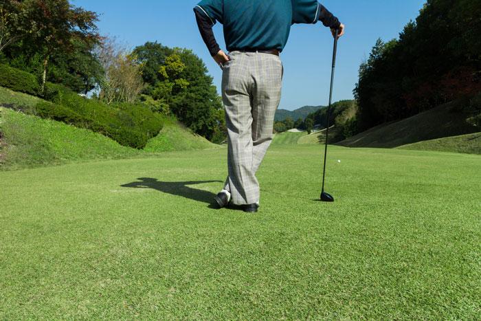 ゴルフパンツについた草木の汁のシミよごれのお洗濯方法