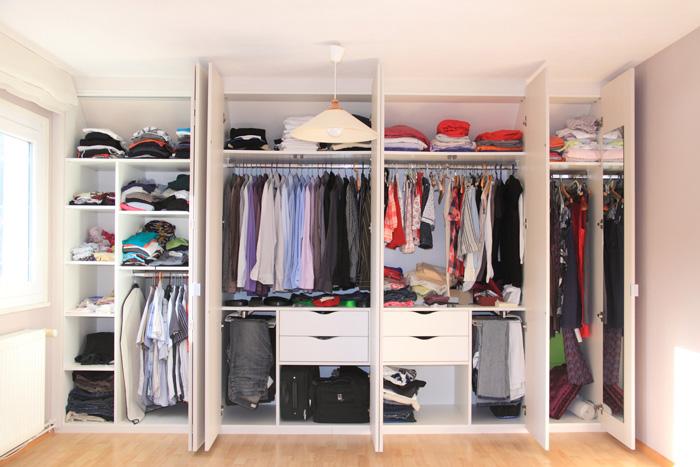 衣替えのスケジュールを立てて、効率的に作業する収納のコツ
