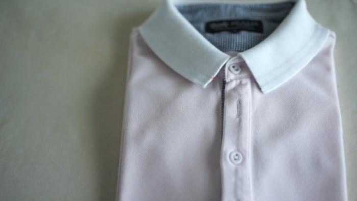クールビズもビシっとキメる!ポロシャツのアイロンがけ。