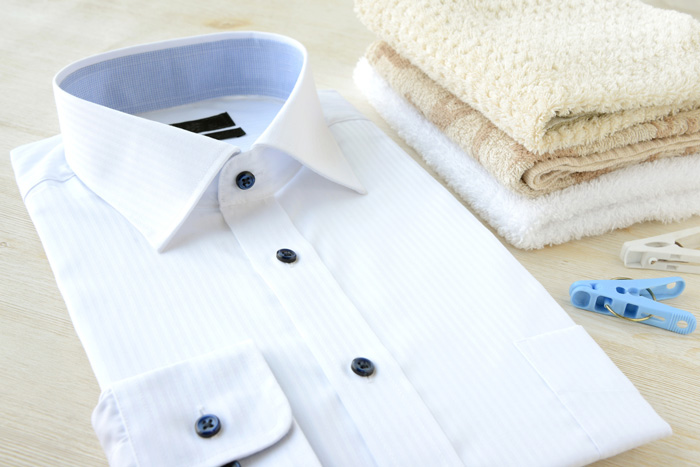 ノーアイロンがメリットの形態安定加工シャツのお洗濯・お手入れ方法