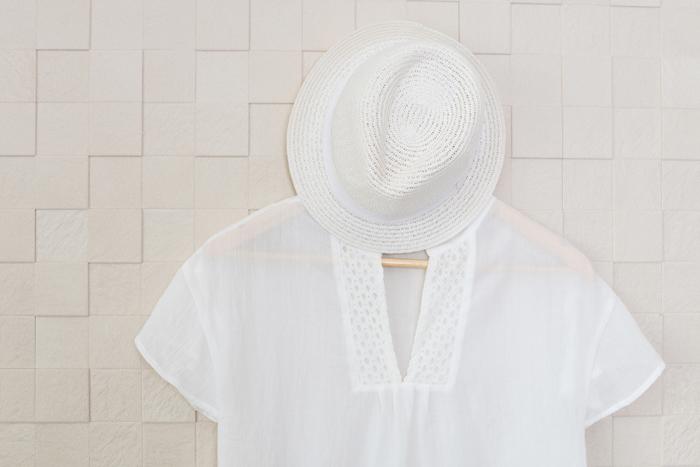 衿や脇部の黄ばむを防ぐ!汗が付着した夏物衣類のしまい洗い方法
