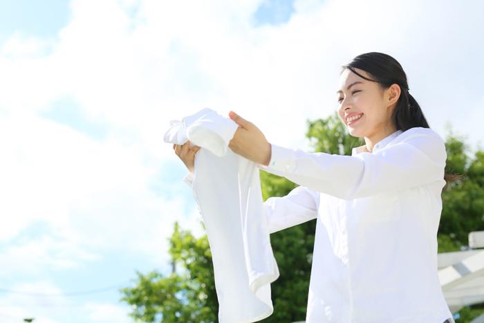 Tシャツやシャツブラウスの黒ずみを解消するつけおきお洗濯!