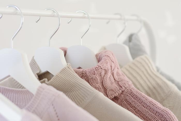 洋服を買う前に毛玉になりやすい衣類か見分ける一つの方法
