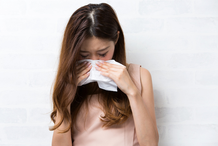 花粉症の方のための春の洗濯部屋干しテクニック