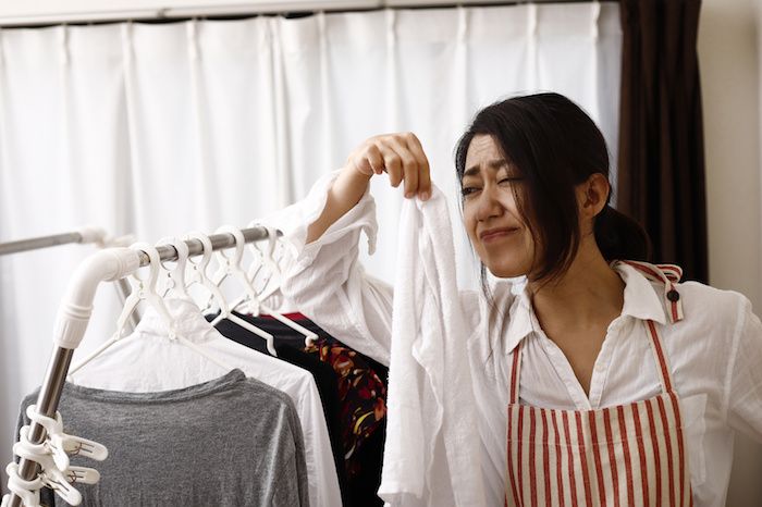快適洗濯・嫌な汗の臭や生乾き臭をなくす方法教えます