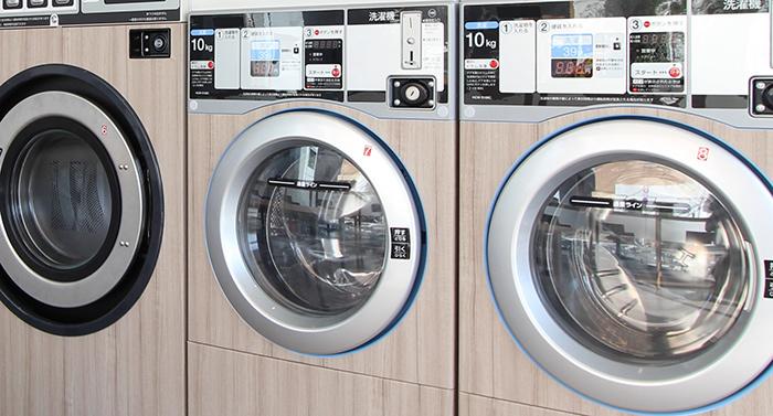 コインランドリーの機械には、ドラム洗浄機能がついているのをご存じでしたか?