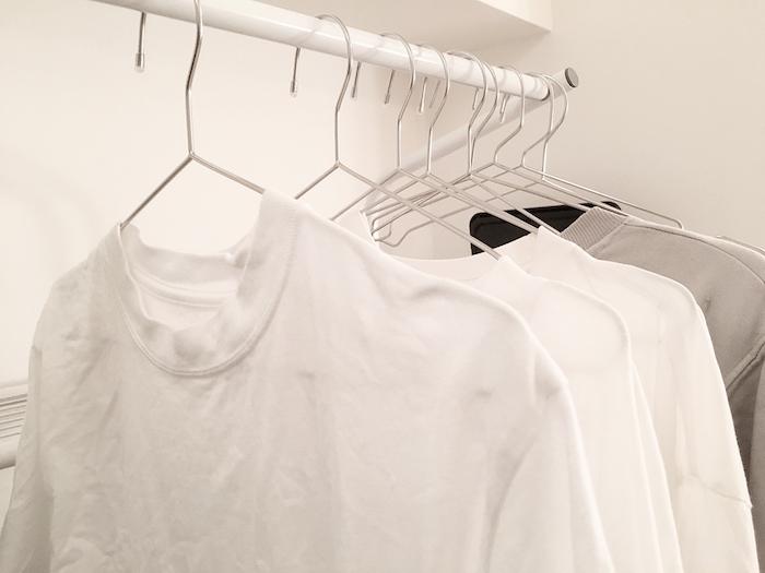 繊維のいたずら? Tシャツなどのゆがみはお洗濯のミスではないですよ