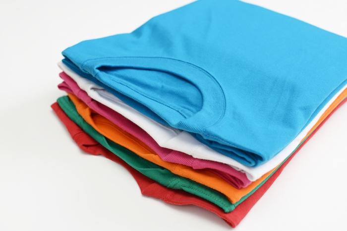 夏休み!家族で実践 夏の必需品Tシャツをきれいにたたむ方法!